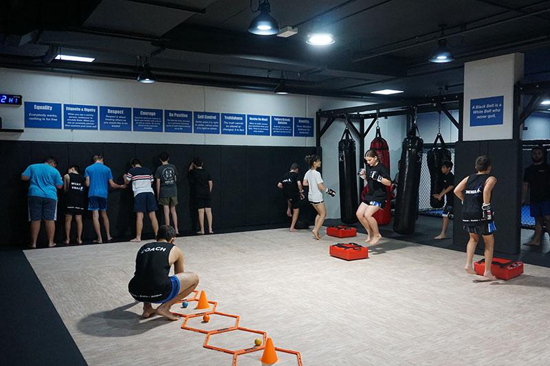 Teen Mixed Martial Arts